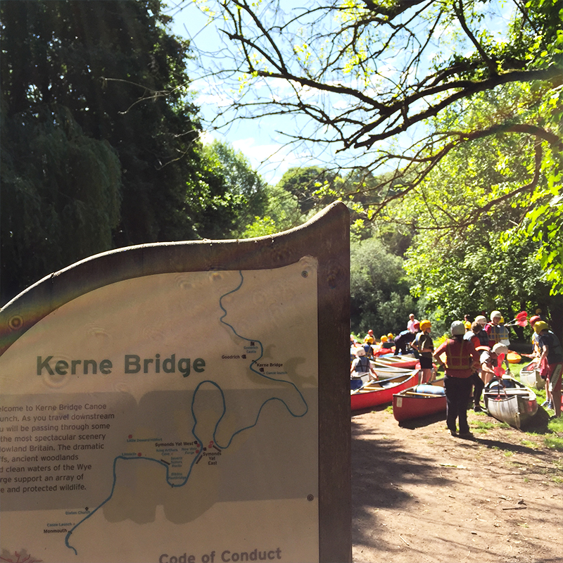 Canoe Hire Kerne Bridge