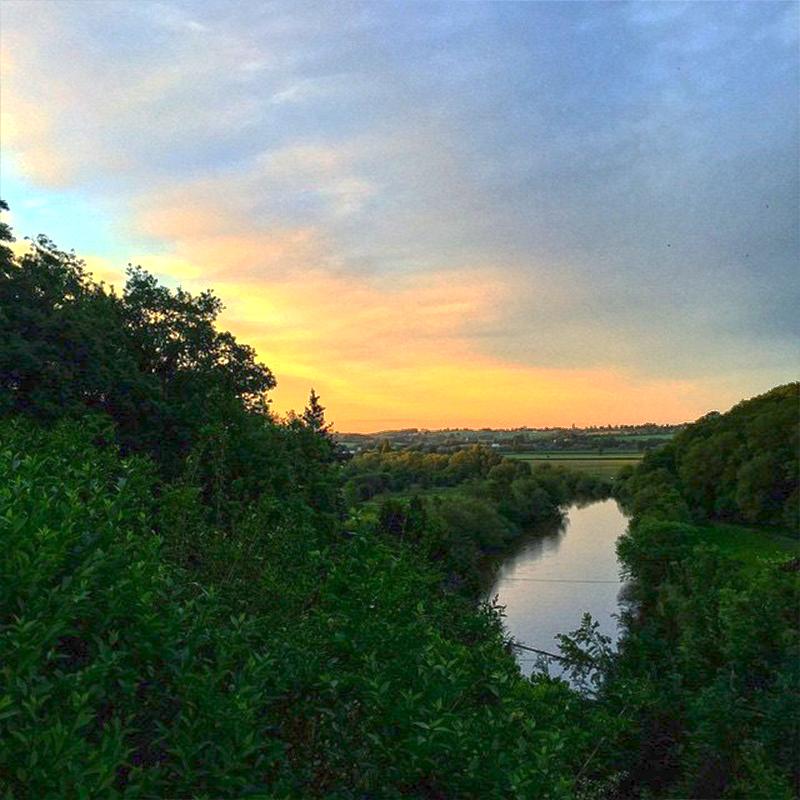 Canoe Hire Sunset Trip